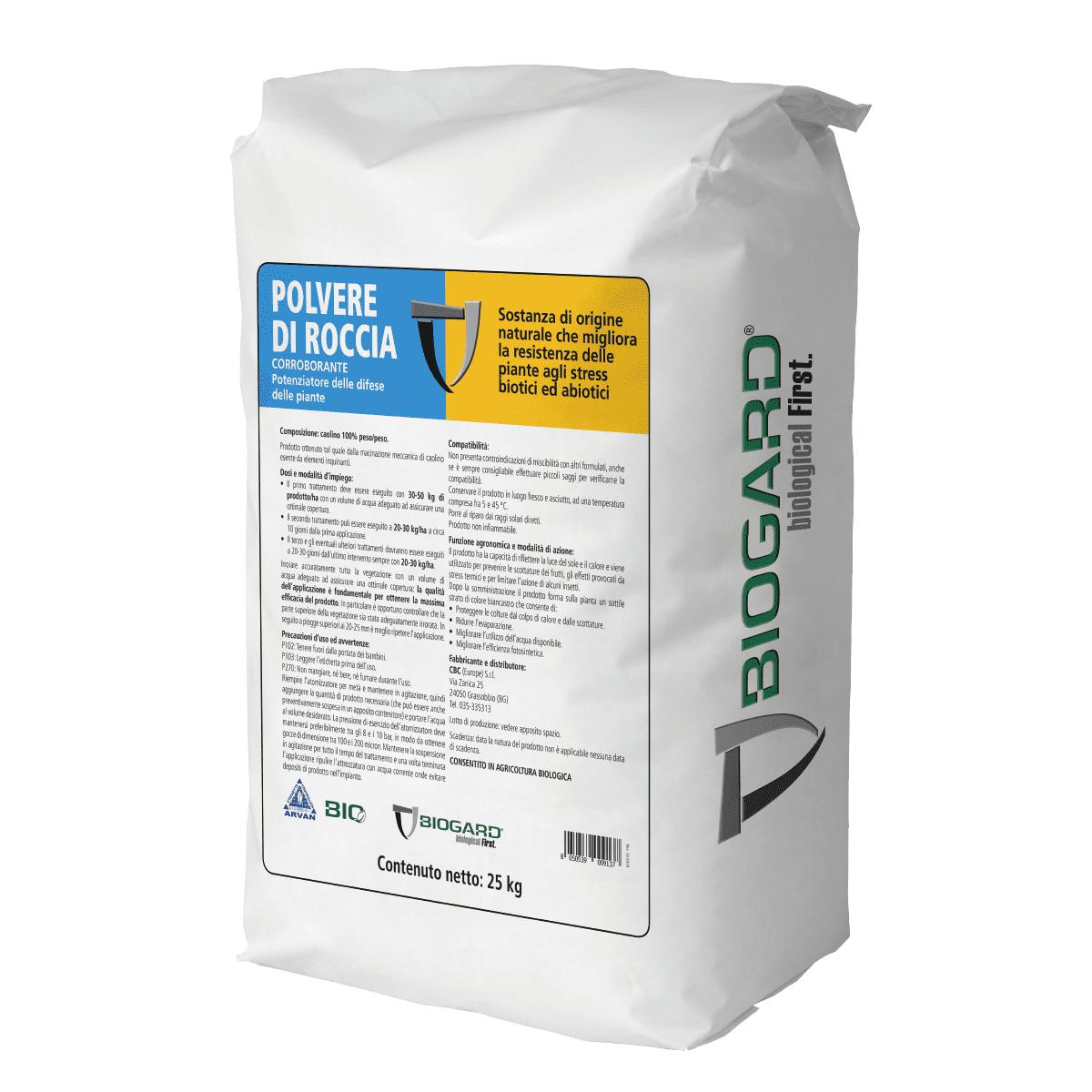 Biogard - Polvere di roccia