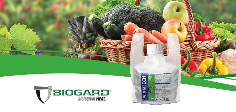 Biogard - Plantech: biostimolante, nutriente e acidificante